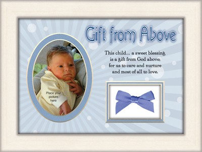 Gift From Above Photo Frame, Boy  -
