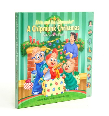 Alvin and the Chipmunks: A Chipmunk Christmas: With Sound and Music  -