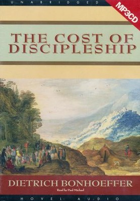 The Cost of Discipleship - Audiobook on MP3  -     By: Dietrich Bonhoeffer