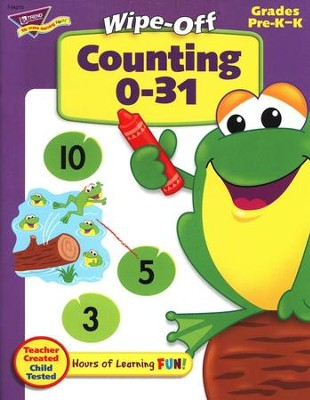 Counting 0-31 Wipe-Off Books  -