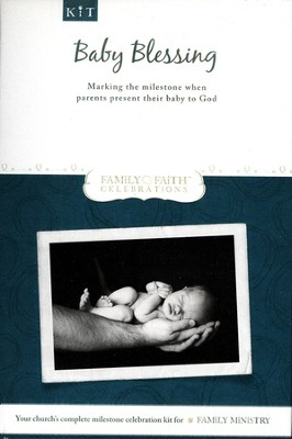Baby Blessing Milestone Leader Kit: Marking the Milestone When Parents Present Their Baby to God  -
