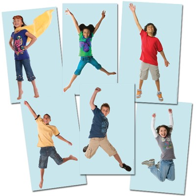 Sky Kids Poster Pack, Set of 6  -