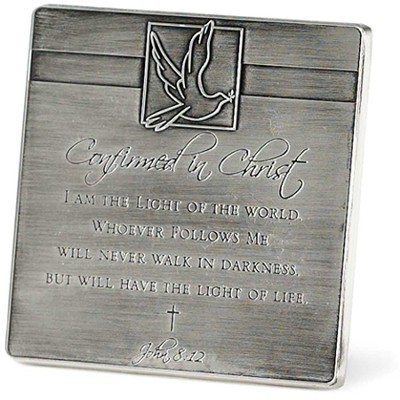 Confirmed in Christ Tabletop Plaque  -