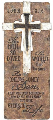 John 3:16 Tabletop Plaque  -