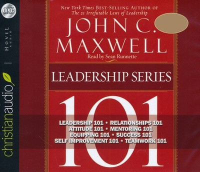 John C. Maxwell's Leadership Series - Unabridged Audiobook on CD  -     By: John C. Maxwell
