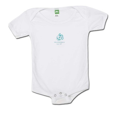 Our Little Miracle Romper, White, 12 Months  -