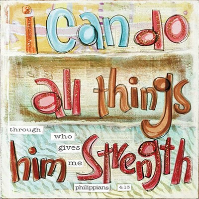 I Can Do All Things Plaque  -