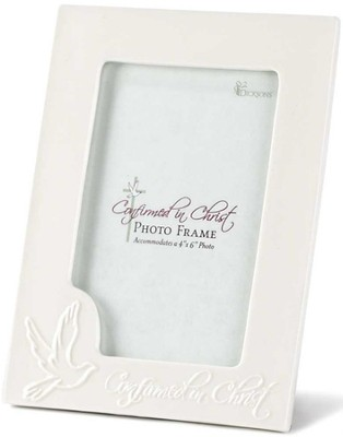 Confirmed in Christ Photo Frame, White  -