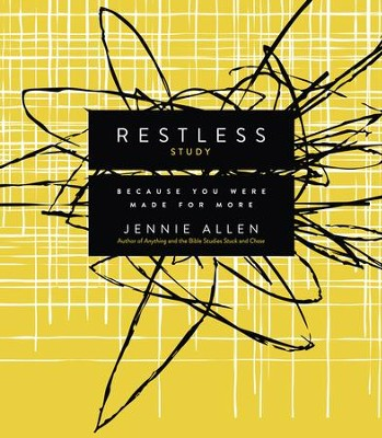 Restless Study Guide: Because You Were Made for More - eBook  -     By: Jennie Allen