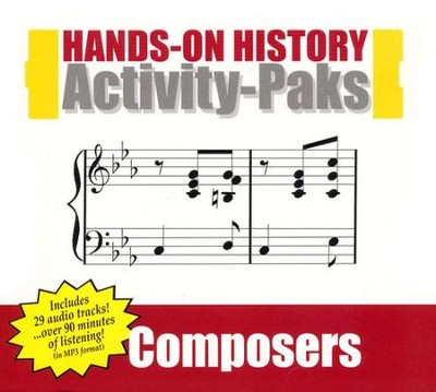 Composers Activity-Pak   -