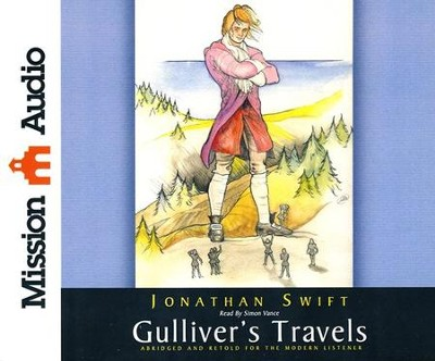Gulliver's Travels Abridged Audiobook on CD   -     Narrated By: Simon Vance     By: Jonathan Swift