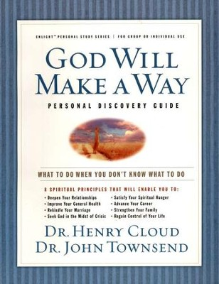 God Will Make A Way Workbook  -     By: Dr. Henry Cloud, Dr. John Townsend