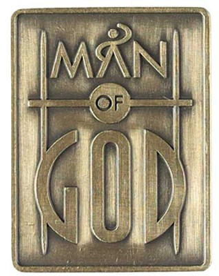 Man of God Pocket Stone  -