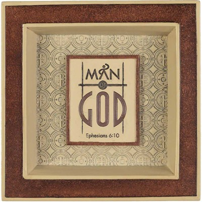 Man of God Coin Tray  -