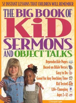 Big Book Of Kid Sermons and Bible Talks   -     Edited By: Sheryl Haystead     By: Edited by Sheryl Haystead