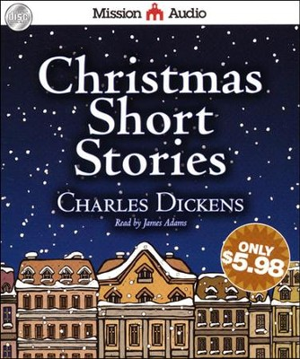 Christmas Short Stories Audiobook on CD  -     Narrated By: James Adams     By: Charles Dickens