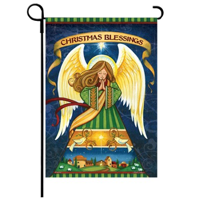 Christmas Blessings Flag, Small  -