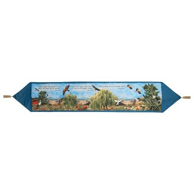 Birds of Israel Tapestry Table Runner   -