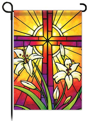 Easter Window Flag, Small  -