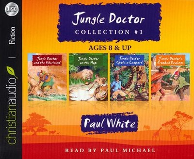 Jungle Doctor Collection #1 Unabridged Audiobook on CD  -     By: Paul White