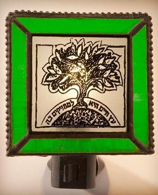 Tree of Life Night Light, Green   -