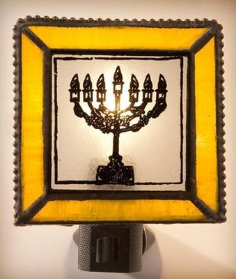Menorah Night Light   -