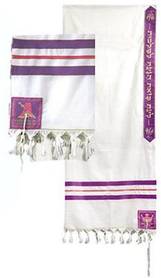 Queen Esther Tallit 24 Wool   -