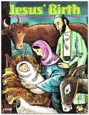 HOBC Bible Big Book: Jesus' Birth  -