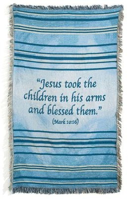 Children's Blue Throw   -