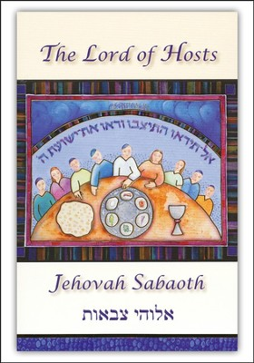 Jehovah Sabaoth Greeting Cards Lord of Hosts (6 cards and envelopes to a pack)  -