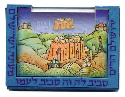 Pray for the Peace of Jerusalem, Note Cards, 60 Small   -
