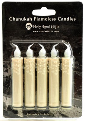 Flameless LED Candles, Box of 5   -