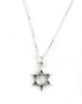 Star of David Modern Pendant   -