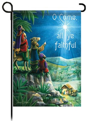 O Come All Ye Faithful, Flag Garden Size   -     By: Janet Stever