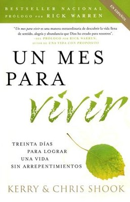 Un Mes para Vivir  (One Month to Live)  -     By: Kerry Shook