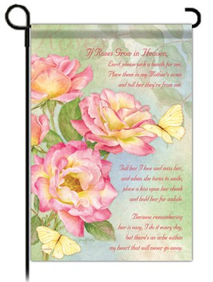 Roses For Mother Flag, Garden Size  -     By: Jane Shasky