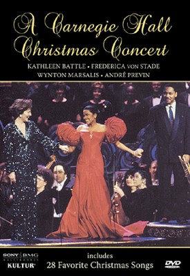 A Carnegie Hall Christmas Concert   -     By: Marsalis Von Stade, Battle