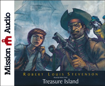 Treasure Island Unabridged Audiobook on CD  -     By: Robert Louis Stevenson