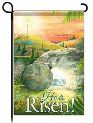 He Is Risen, Small Flag  -