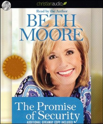 Promise of Security Unabridged Audiobook on CD  -     By: Beth Moore