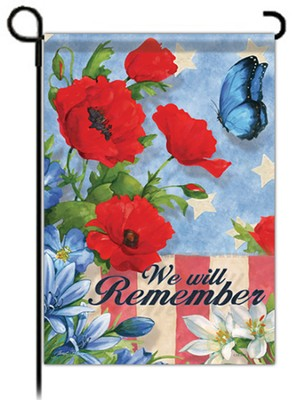 We Will Remember Flag, Garden Size  -     By: Janet Stever