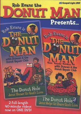 Rob Evans the Donut Man Presents: The Donut Hole 1 and 2 on  One DVD  -     By: Rob Evans