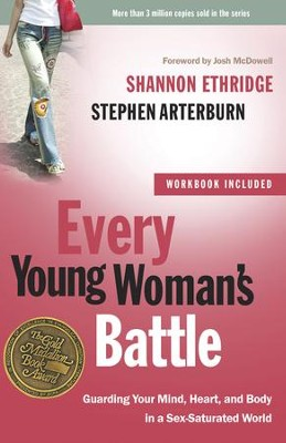Every Young Woman's Battle with Workbook  - Slightly Imperfect  -