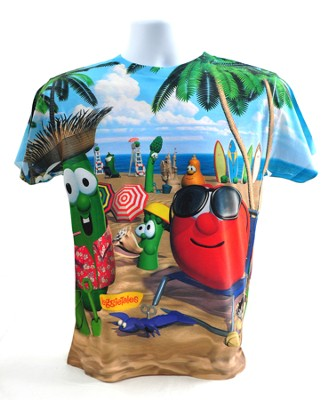 Veggie Beach Shirt, Youth Medium  -