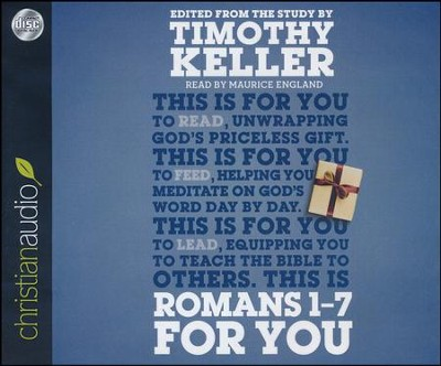 Romans 1 - 7 for You - unabridged audiobook on CD  -     Narrated By: Maurice England     By: Timothy Keller