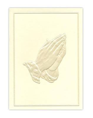 Praying Hands–Gift Acknowledgment Cards, 6    -