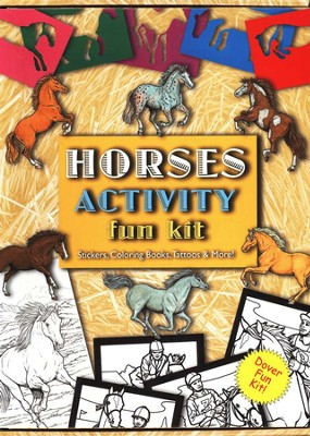 Horses Activity Fun Kit  -
