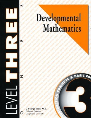 Developmental Math, Level 3, Student Workbook   -     By: L. George Saad