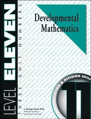 Developmental Math, Level 11, Student Workbook   -     By: L. George Saad