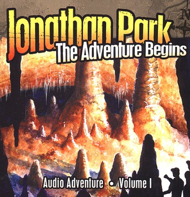 #1: The Adventure Begins MP3 Audio CD  -     By: Pat Roy
